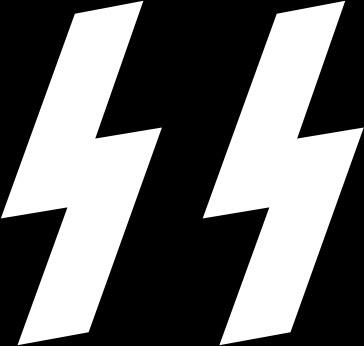 Flag Schutzstaffel clip art