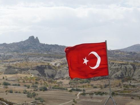 flag turkey uchisar