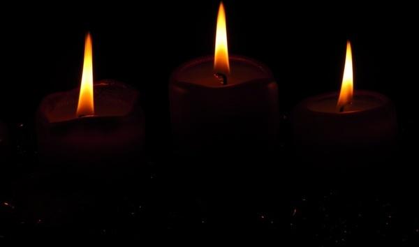 flame candlelight burn