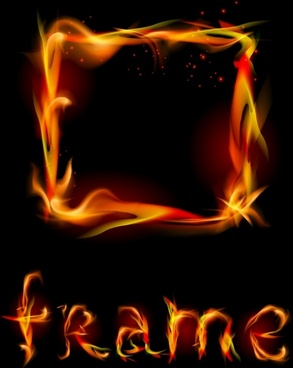 flame fire flames vector