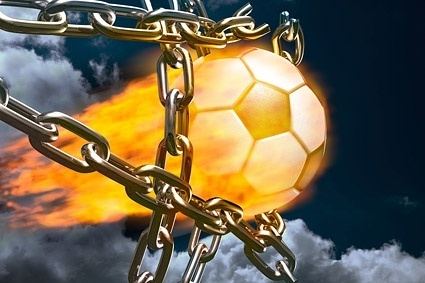 flame football picture