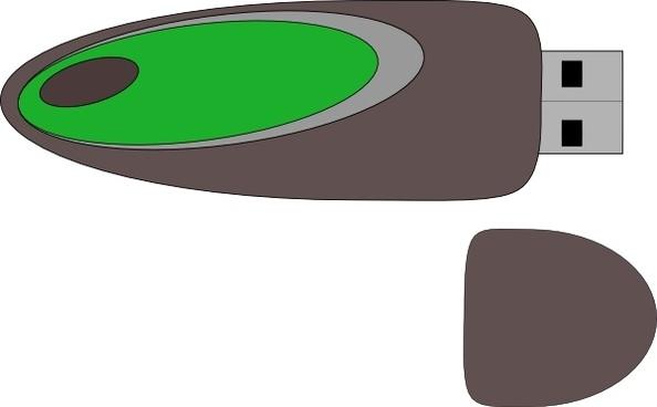 Flash Disk clip art
