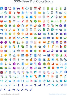 flat color icons by icons8