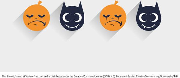 flat halloween vector icon