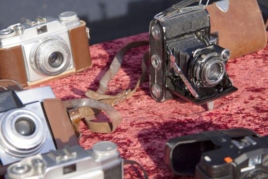 flea market cameras balgenkamera