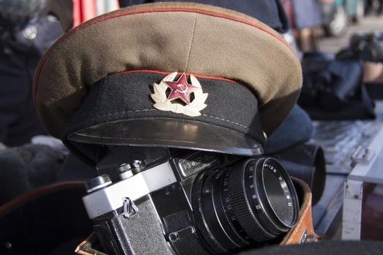 flea market militaria military cap