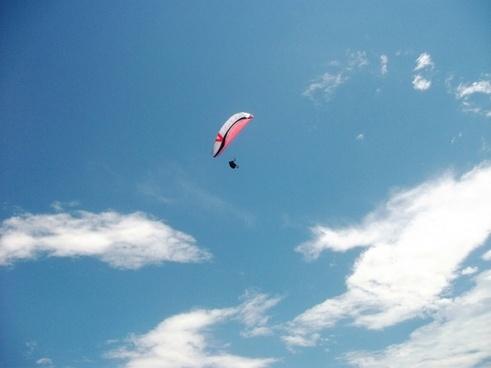 flight paragliding