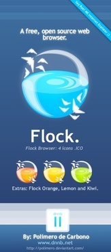 Flock Icons icons pack
