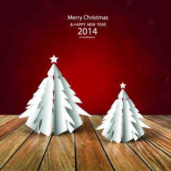 floor and christmas background vector set