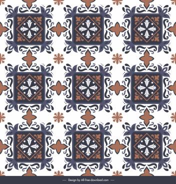 floor tile pattern template classical elegant symmetry