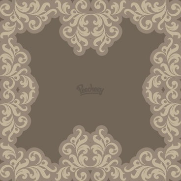 floral background in neutral tones