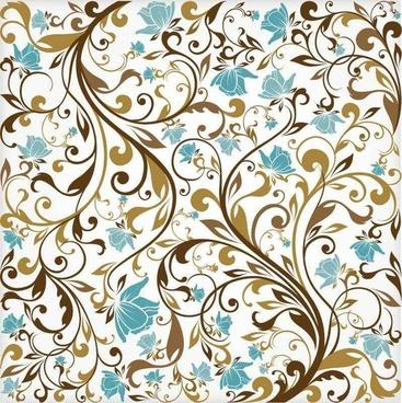 Floral Background Vector Art