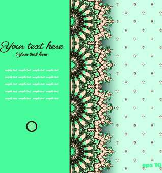 floral background with you text vector