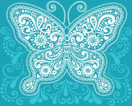 floral decorative pattern art elements vector