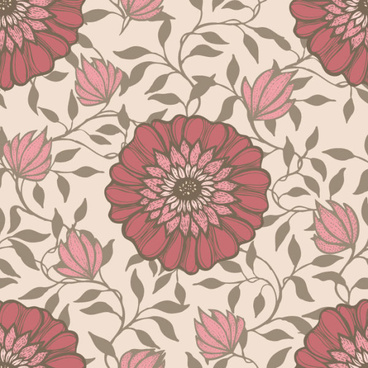 floral decorative pattern art elements vector