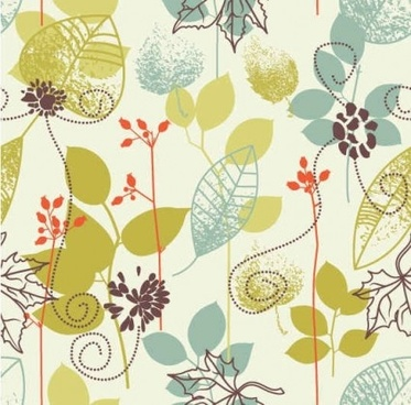 floral design element background vector