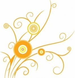 Floral Design Swirl Photoshop Pattern Eps Vector