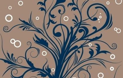 floral ensemble vector