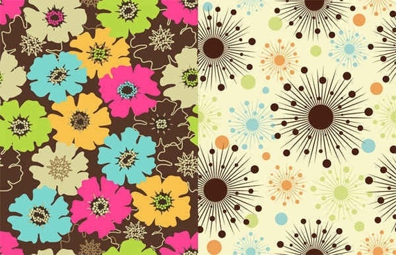 floral flowers background vector Graphics