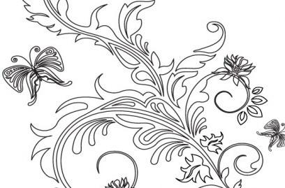 Floral Ornament Coreldraw Free Vector Download 24 194 Free Vector