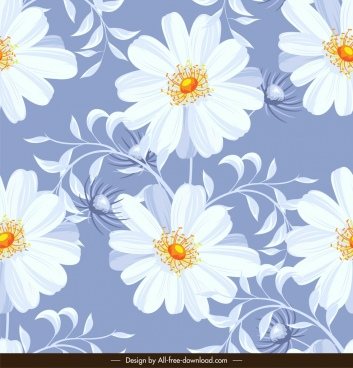 floral pattern classical bright colorful decor