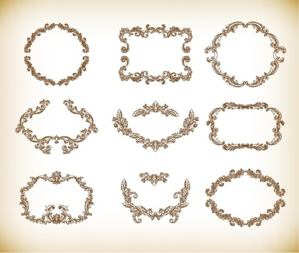 Vintage frame clip art free vector download (218,360 Free vector ...