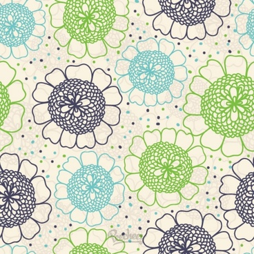 floral wallpaper seamless