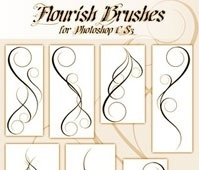 Flourish Brushes for CS3