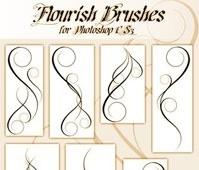 Flourish Brushes for CS3