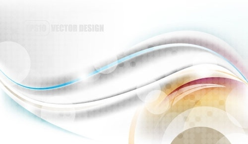 flow lines and elegant background 03 vector