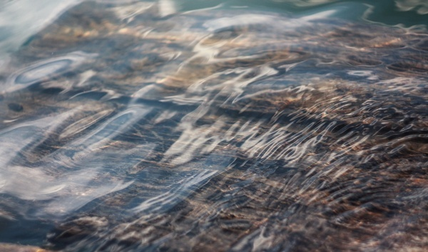 flow reflection ripple river stream water wave wood