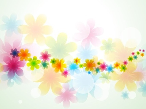 flowers background colorful blurred decor