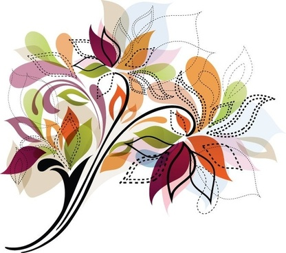 Flower Design Element Vector Illustration