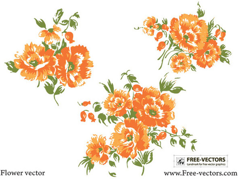 flower free vector graphics