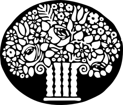 Flower Ornament clip art