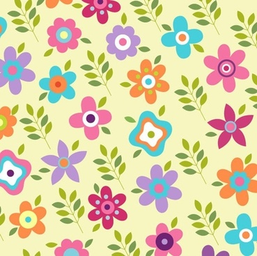 flower patterns vector graphic