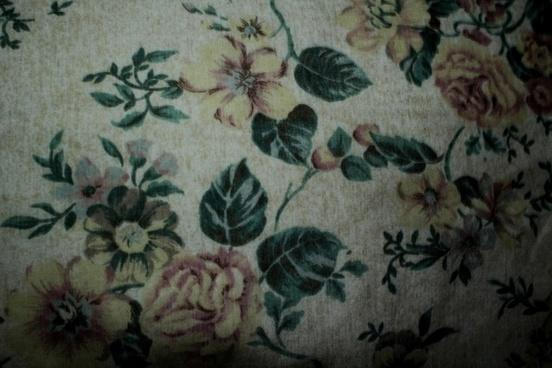 flower textile background