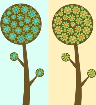Flowered Trees