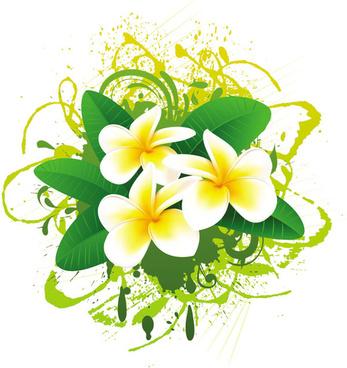 flowers bloom free vector