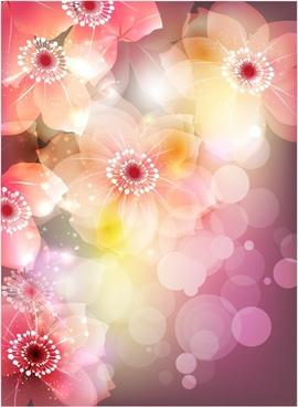 flowers flower petals vector