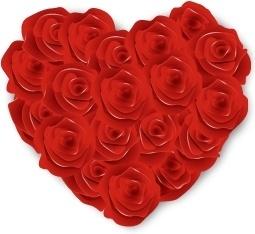 Flowers Heart Roses
