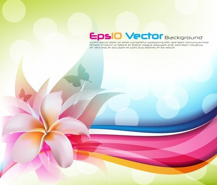 Simple Flower Background Color Free Vector Download 68 249