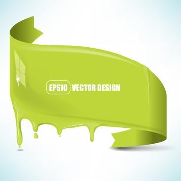 flowing pigment 02 vector