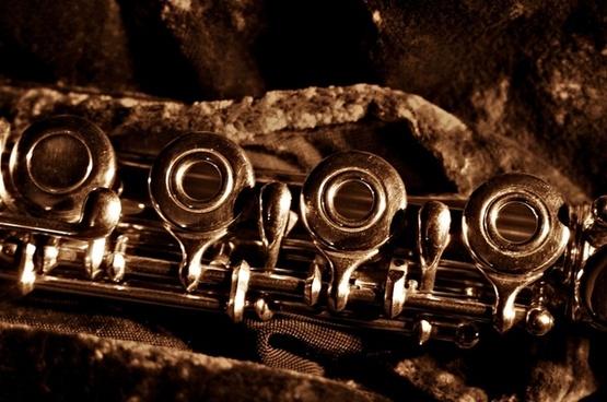flute mechanics ring keyed flute