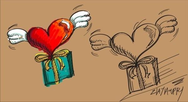 fluttering heart