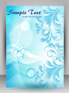 Travel Brochure Background Free Vector Download 48 459