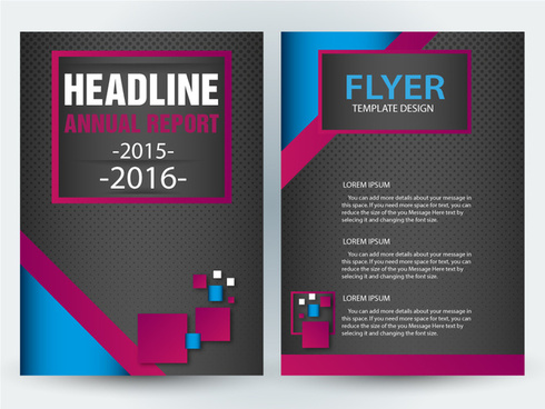 Adobe illustrator flyer template free vector download (222,459 Free ...