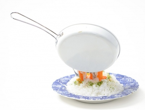 flying frying pansoft boiled egg