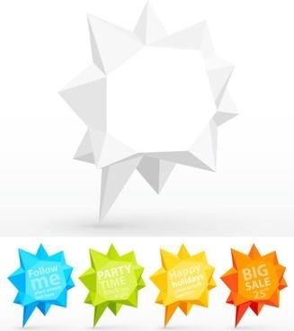 fold dialog 04 vector