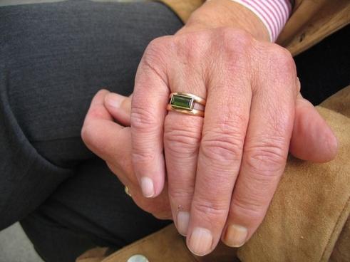 fold hand finger